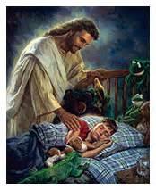 He watches over us while we sleep. God never sleeps.