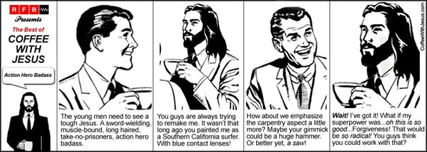 Coffee with Jesus - forgiveness