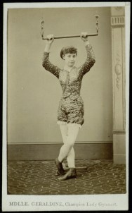 Mme Geraldine, Champion Lady Gymnast, 1868 [Munby 114/16b]
