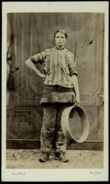 Female Collier from Rose Bridge Pits, 1869 [Munby 112/7c]