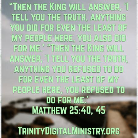 Matthew 25_40_45 image