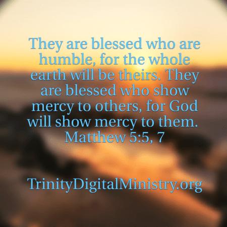 Matthew 5_5_7 image