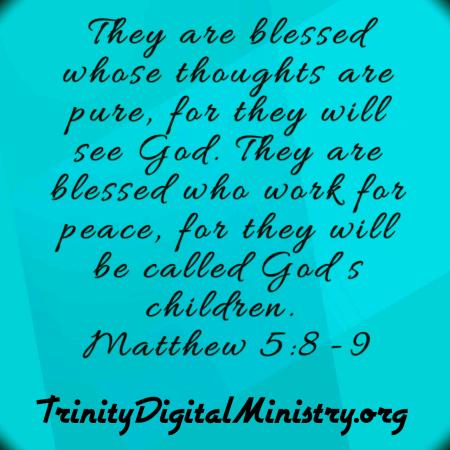 Matthew 5_8-9 image