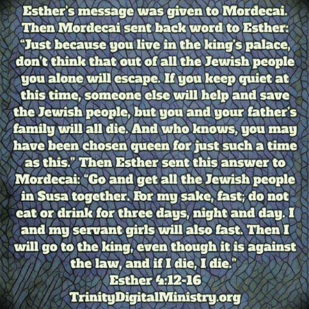 Esther 4:12-16 image