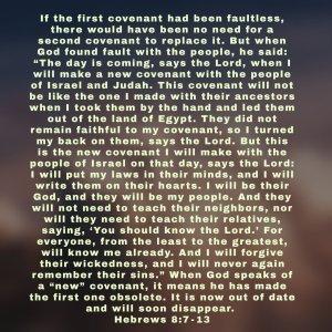 Hebrews 8:7-13 image