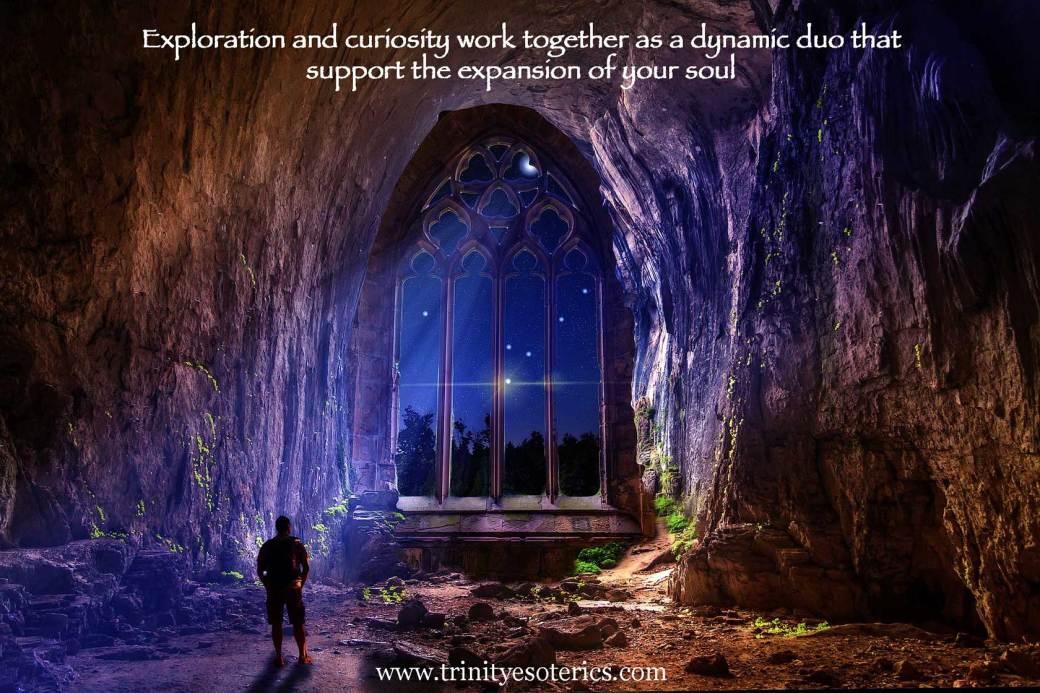 cave opening to night sky trinity esoterics