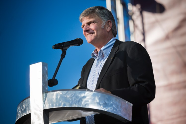 Hey Franklin Graham, where are those donations going?