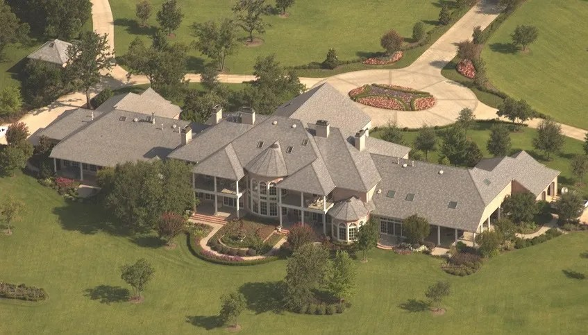 When the Church Parsonage Looks Like a Mansion