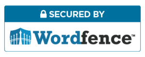 Secured by WordFence logo