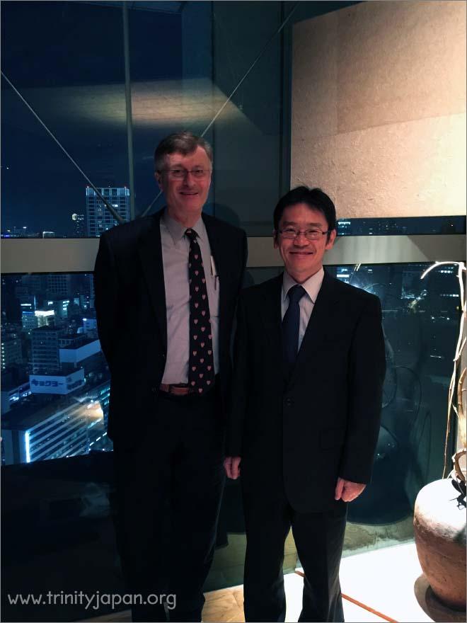 Trinity in Japan Society 5th meeting on Friday 20 November 2015
