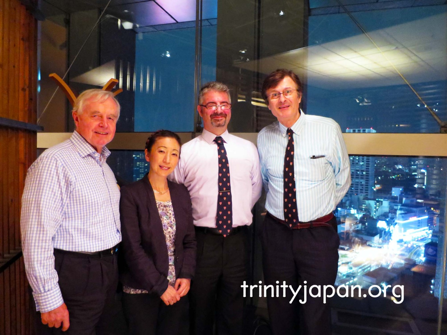 3rd Trinity in Japan Society meeting on Thursday, 24 September 2015