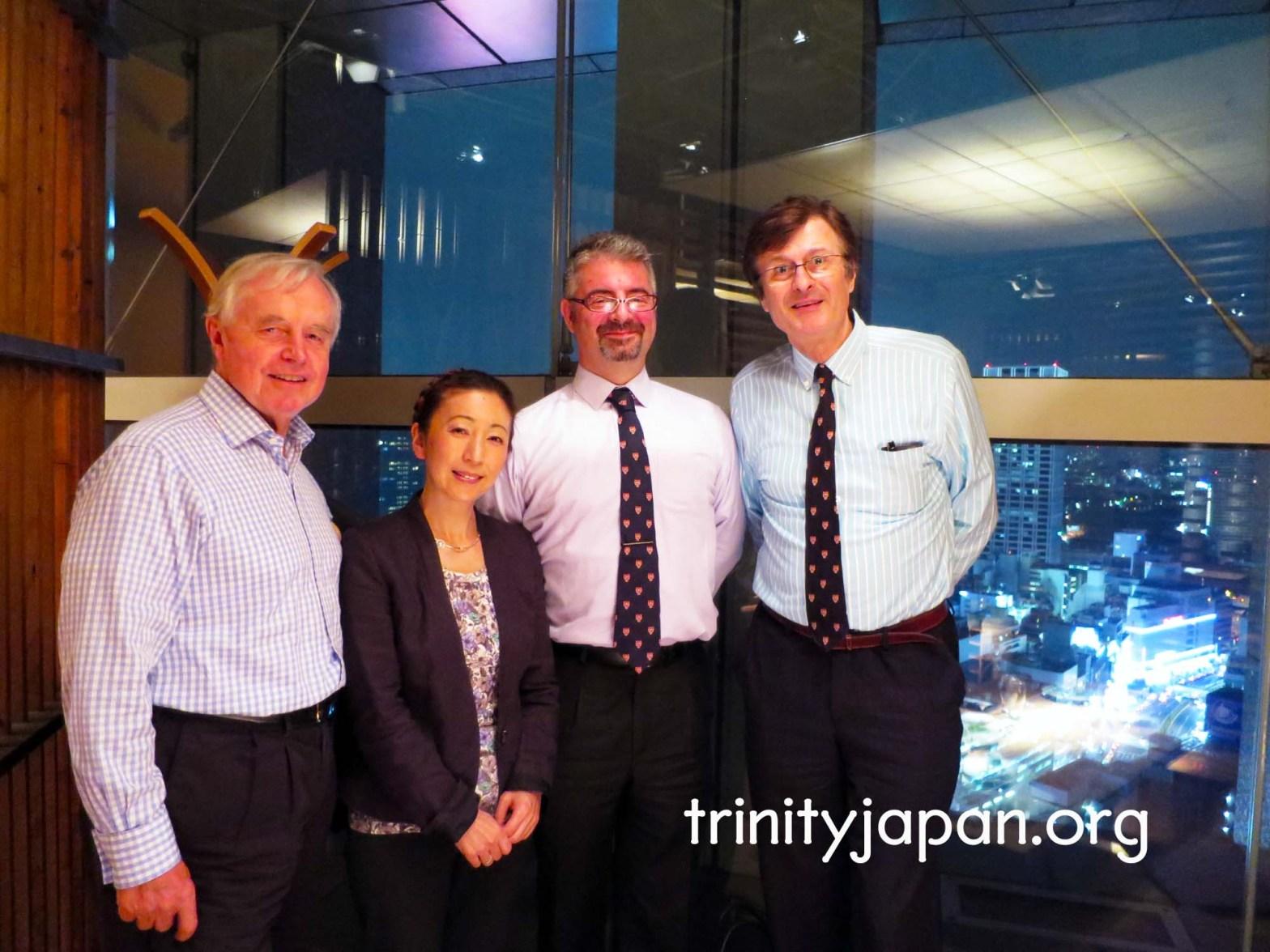 3rd Trinity in Japan Society meeting on Thursday, 24 September 2015
