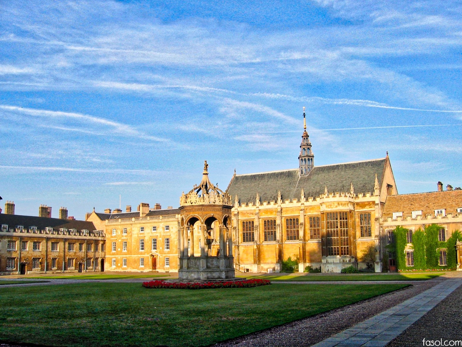 Trinity College Cambridge University Trinity in Japan
