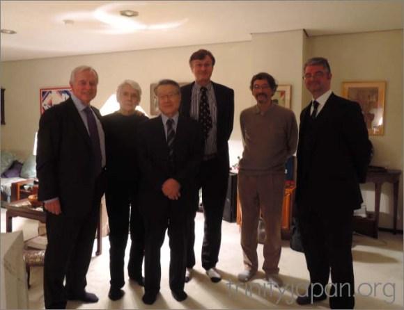Trinity in Japan Society New Year meeting 22 January 2016
