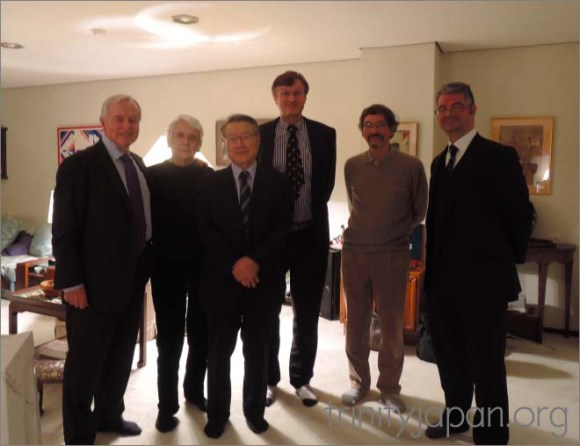 Trinity in Japan Society New Year meeting 22 January 2016