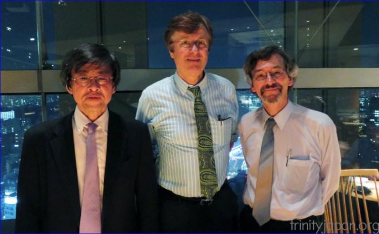 Trinity in Japan Friday, 27 May 2016