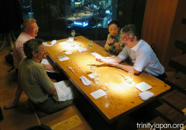 Trinity in Japan with Professor Mikael Adolphson on Friday 15 July 2016