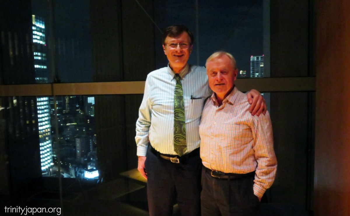 Trinity in Japan dinner on Thursday 27 October 2016 with Anthony Millington