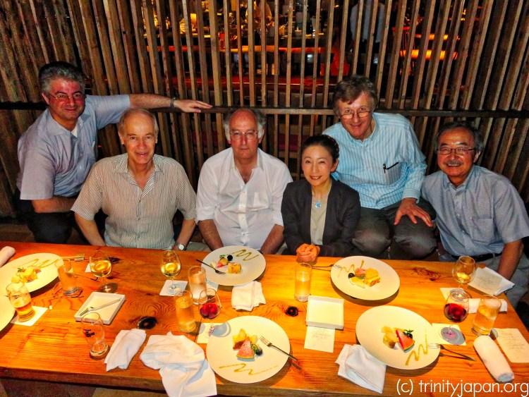 Trinity in Japan meeting in Tokyo - tanabata 七夕 dinner - Friday 7 July 2017 7pm