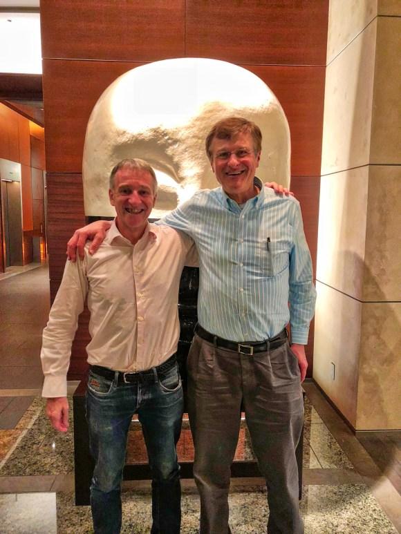Gawain Barnard and Gerhard Fasol , Trinity in Japan