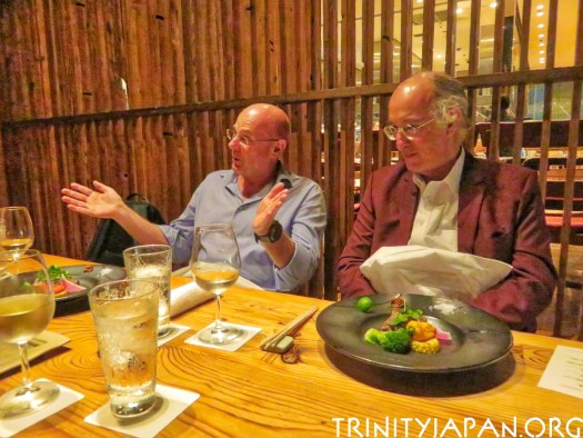 Trinity in Japan meeting in Tokyo Friday 31 August 2018