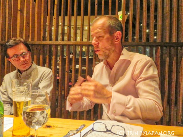 Trinity in Japan special event in Tokyo Friday 28 September 2018 with The Revd Dr Michael Banner
