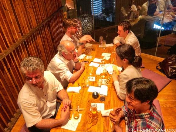 Trinity in Japan & MIT Sloan Society of Japan meeting in Tokyo Wednesday 25 July 2018