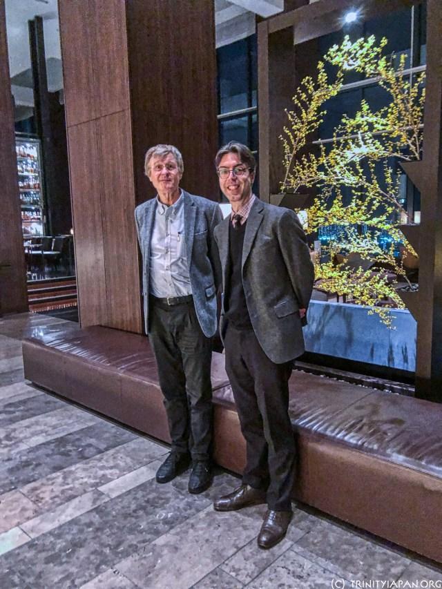 JC de Swaan and Gerhard Fasol meet in Tokyo