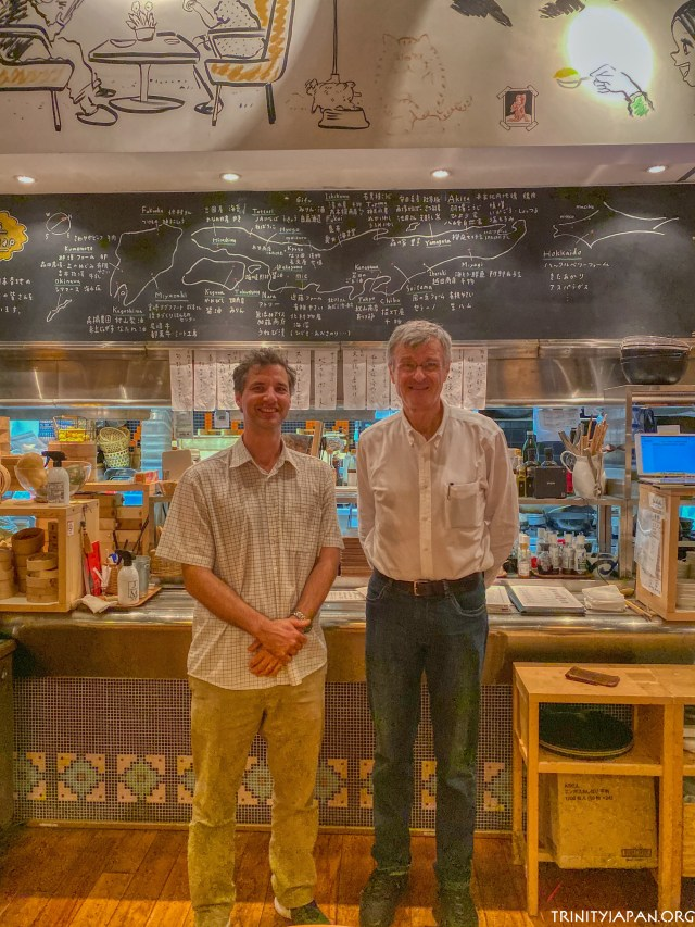29 September 2019 - Meeting Mike Tehranchi, Trinity College Fellow and Director of Studies in Mathematics