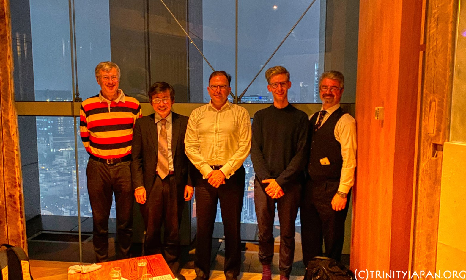 18 October 2019 Trinity in Japan Rugby World Cup special and talk by Wolfgang Ungerer on the future of the automotive industries