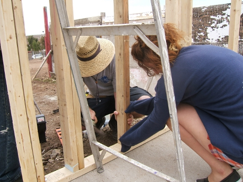 Building a house for the poor