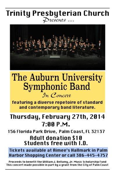 Auburn Band at Trinity