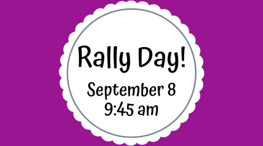 Rally Day!