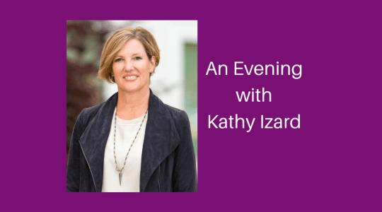 Trinity Presents: An Evening with Author Kathy Izard