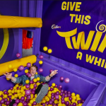 Cadbury's Obey your Mouth Campaign set built by Trinity Set and Stage