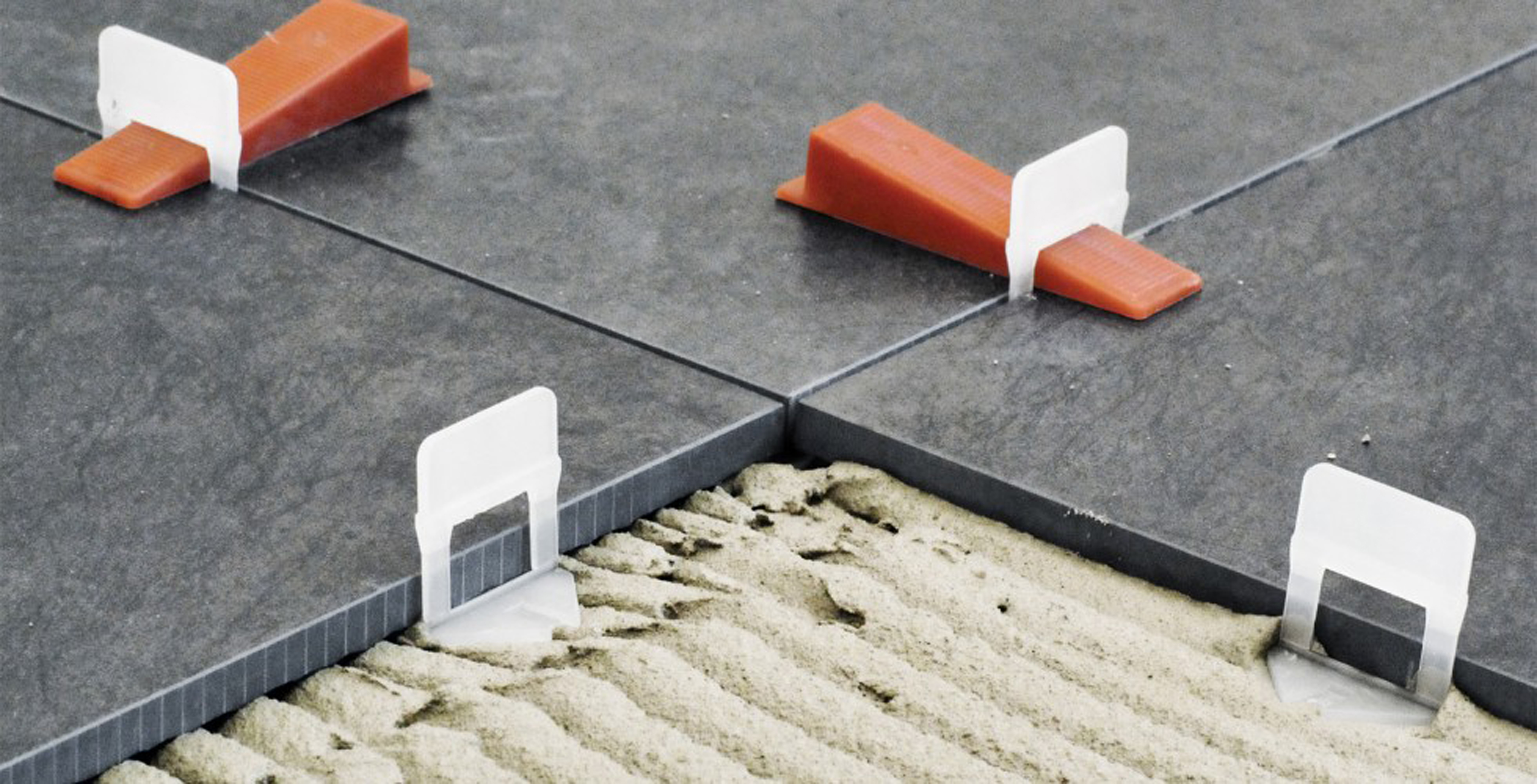 the top tile leveling and spacing