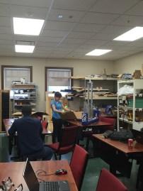 Build members creating the prototype