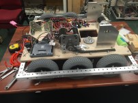 The robot at the start of week 6