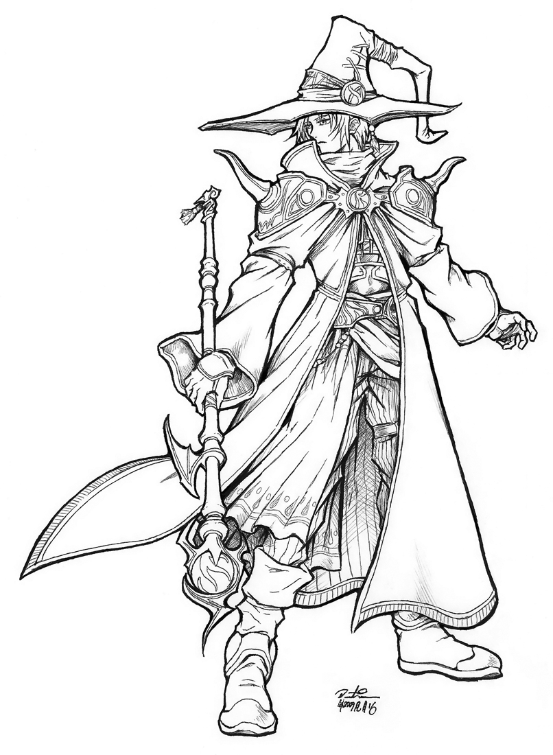 The Mage (3.5 base class, work in progress, heavy