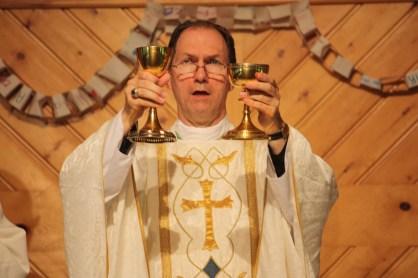 Mass with Bishop Folda