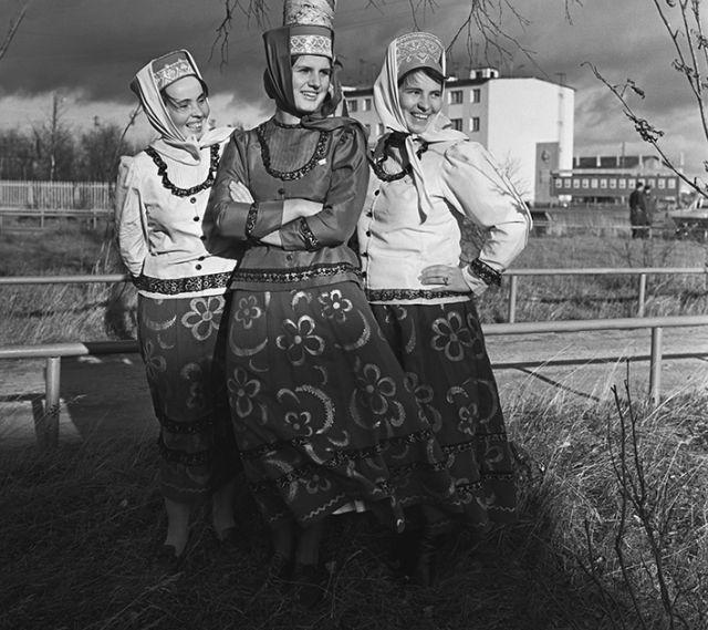 La vie des Saami aux 19ème et 20ème siècles (14 photos)