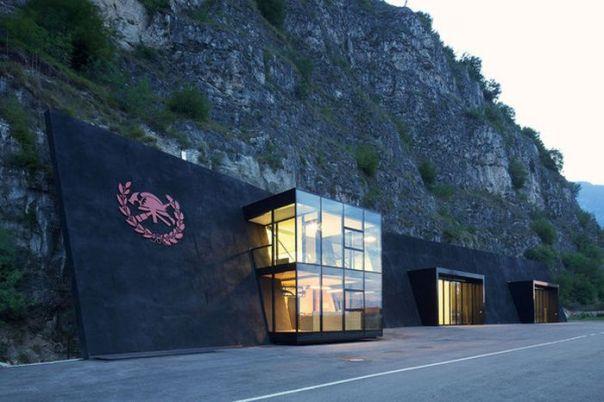Sıradışı Magre sulla Strada del Vino İtfaiye Binası (7 Fotograf)