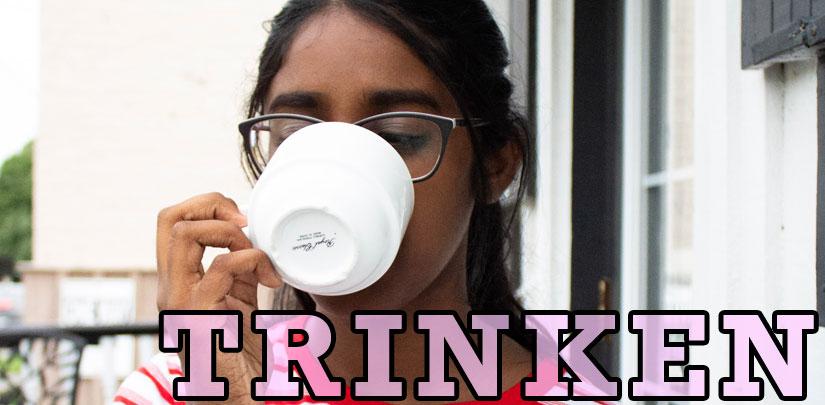 Trinken (to Drink) - Wort des Tages