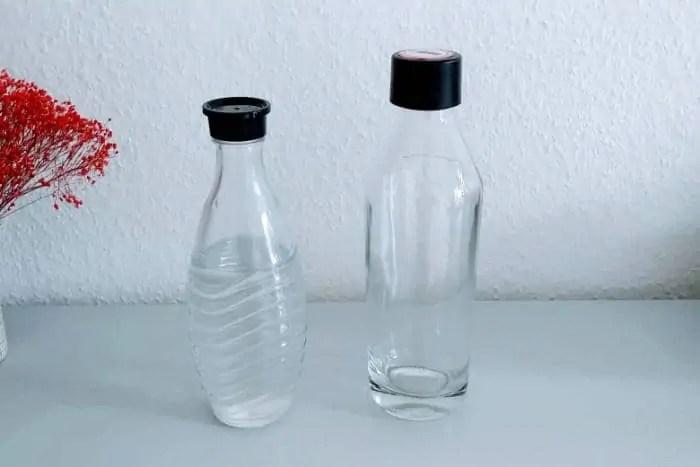 Wassersprudler Glasflasche