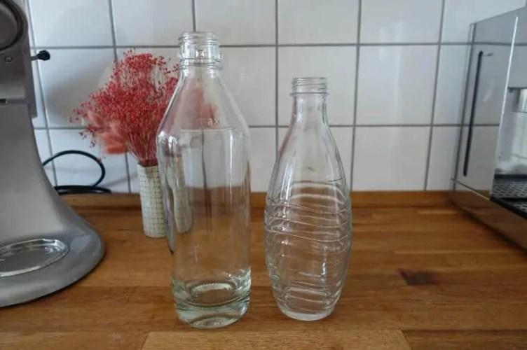 mySodapop oder SodaStream Glasflasche