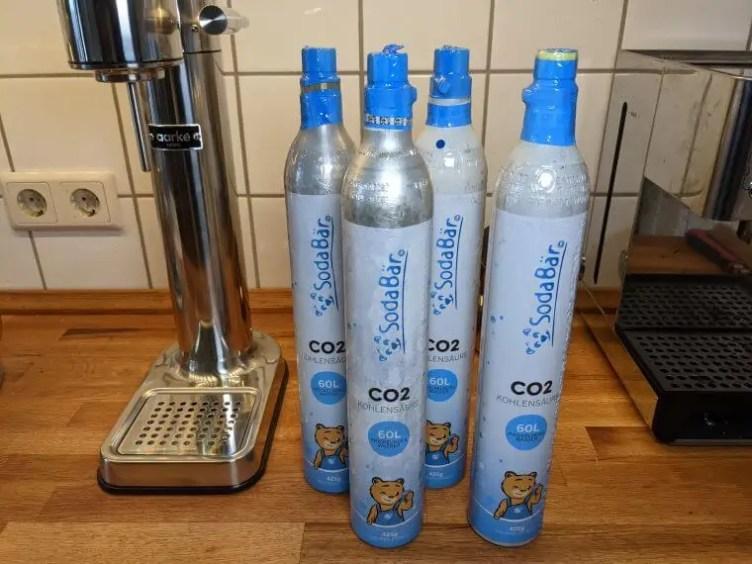 SodaBär CO2 Zylinder Lieferdienst