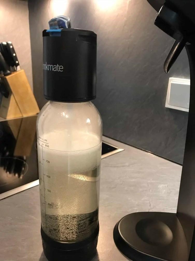 Drinkmate Test Druckablassventil - kein Übersprudeln