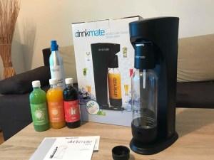 Drinkmate Wassersprudler Test Lieferumfang