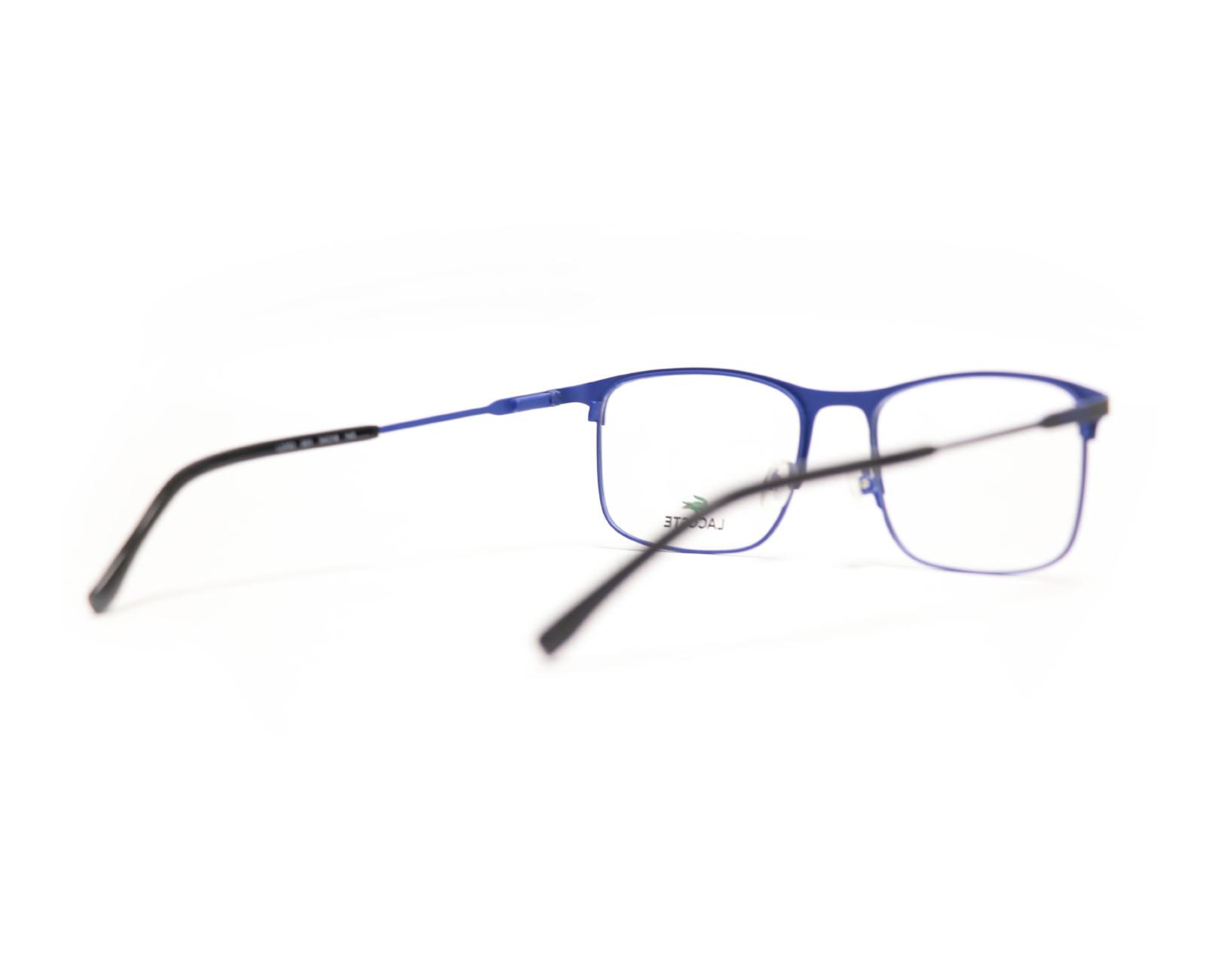 Lacoste L2252 in Matte Black Blue