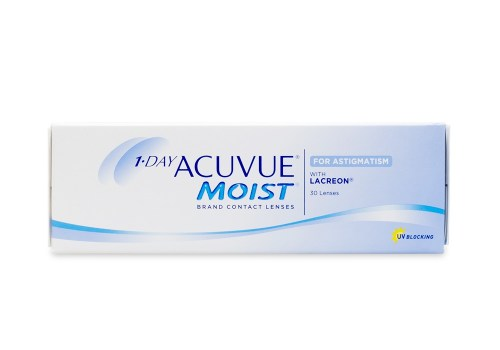 1-DAY ACUVUE® MOIST Brand for ASTIGMATISM